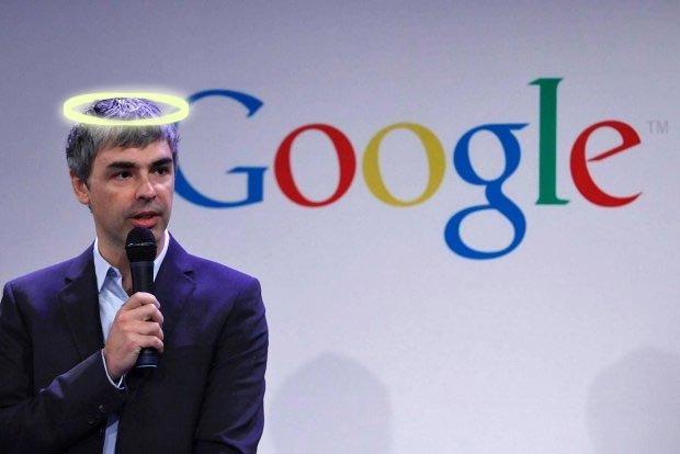 Larry Page czuje się Bogiem?