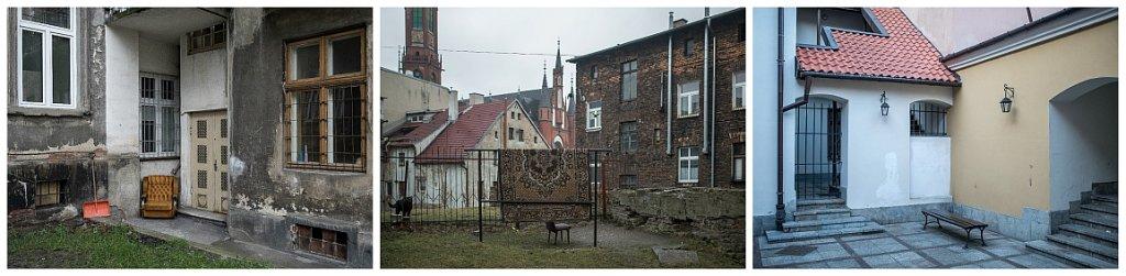 Polskie podwórka: Tarnów - Wałbrzych - Zamość(fot. Filip Springer)