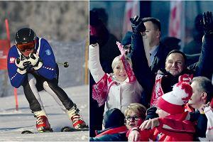 Prezydent Andrzej Duda wraz z żoną Agatą Dudą ubiegły weekend spędzili w Zakopanem, gdzie kibicowali skoczkom podczas zawodów Pucharu Świata. Jednak nie tylko to było w planach. Prezydent miał też szansę pochwalić się swoimi umiejętnościami narciarskimi, biorąc udział w charytatywnym slalomie narciarskim. Jak mu poszło? Doskonale! Sami zobaczcie.