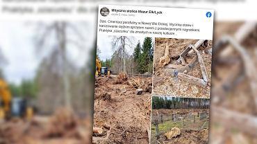 Ełk. Parafia ma zapłacić 2 miliony złotych. To kara za zniszczony cmentarz