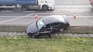 Wypadek na A2 pod Poznaniem