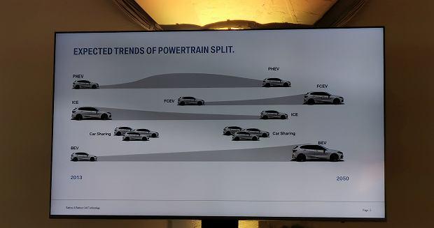 szacowana oś czasu BMW (przy dzisiejszych i planowanych regulacjach prawnych)