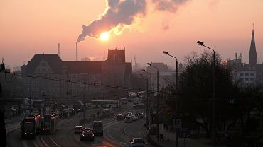 Smog nad Szczecinem, 24 stycznia 2019