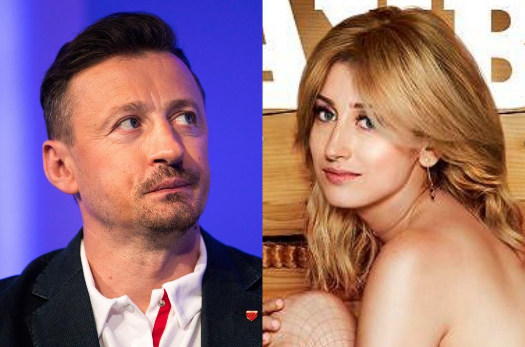 Adam Małysz i Justyna Żyła