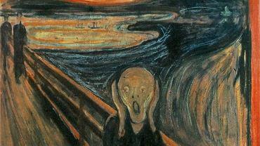 """reprodukcja """"Krzyk"""" Edward Munch"""