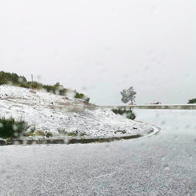 Śnieg na Maderze