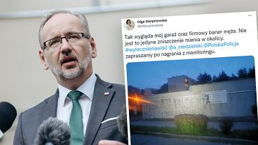 Minister zdrowia Adam Niedzielski odniósł się do tweeta opublikowanego przez farmaceutkę Olgę Sierpniowską