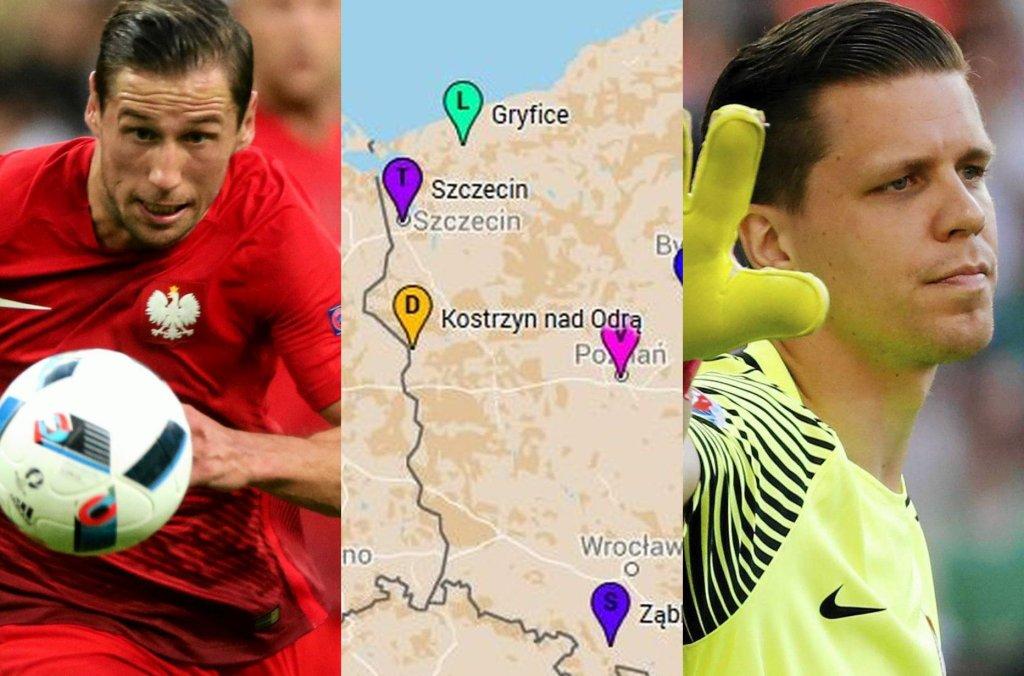 Skąd pochodzą piłkarze polskiej reprezentacji? Poza Thiago Cionkiem, który urodził się w Brazylii, wszyscy w dowodach w rubryce
