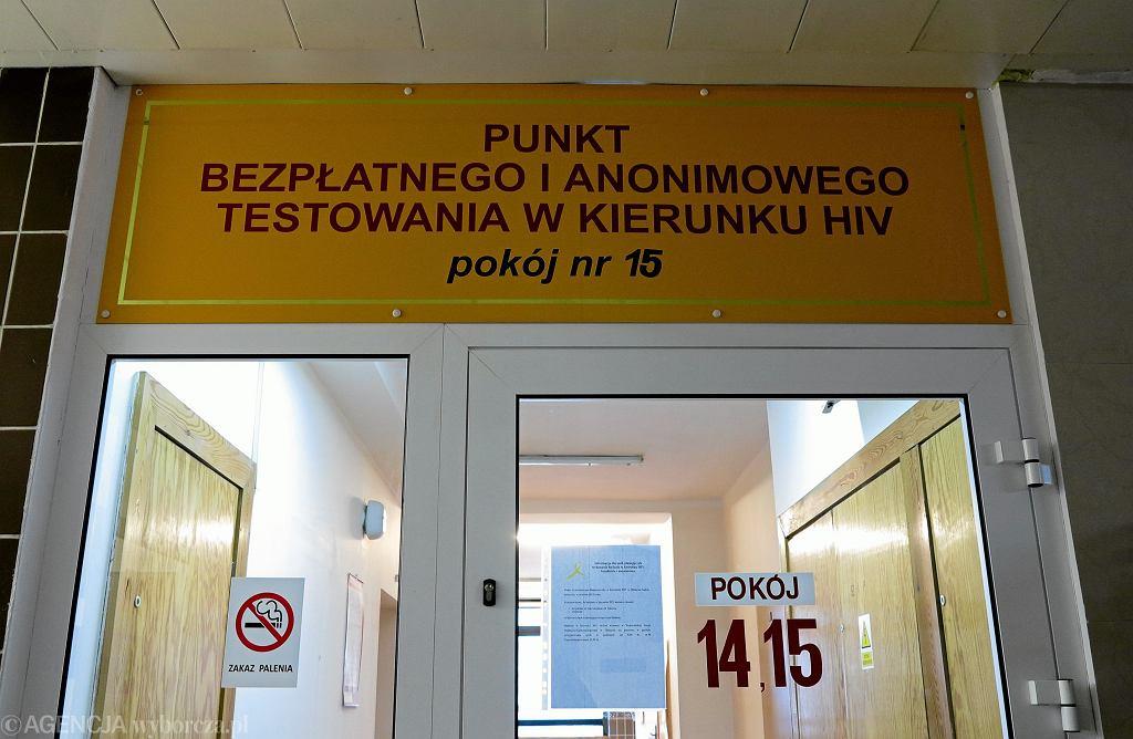 Punkt bezpłatnego badania w kierunku HIV