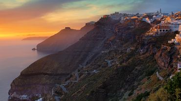Zachód słońca na Santorini/ Fot. CC BY 2.0/ Eric Hosinger/ Flickr.com