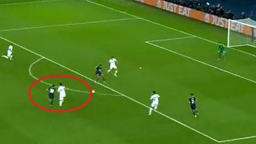 Lionel Messi strzela pierwszego gola dla PSG