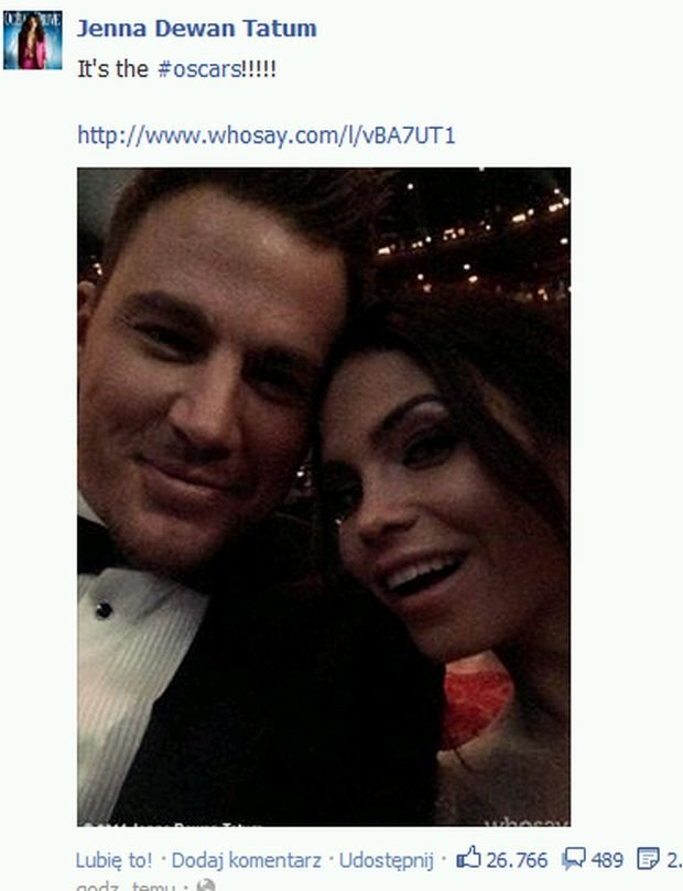 Channing Tatum  i jego żona Jenna Dewan