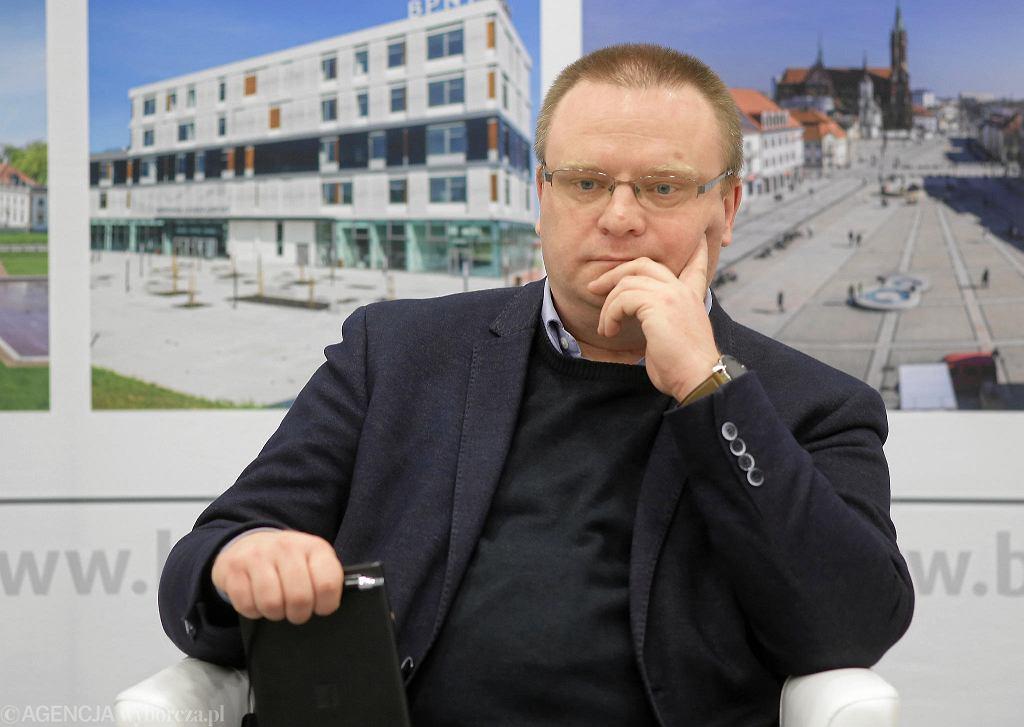 Białystok. Debata 'Życie publiczne bez mowy nienawiści?' w Centrum Aktywności Społecznej. N/Z Łukasz Warzecha