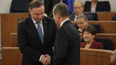 Andrzej Duda i Tomasz Grodzki