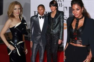 Nicole Scherzinger, Kylie Minogue,  Pharrell Williams i jego żona Helen Lasichanh