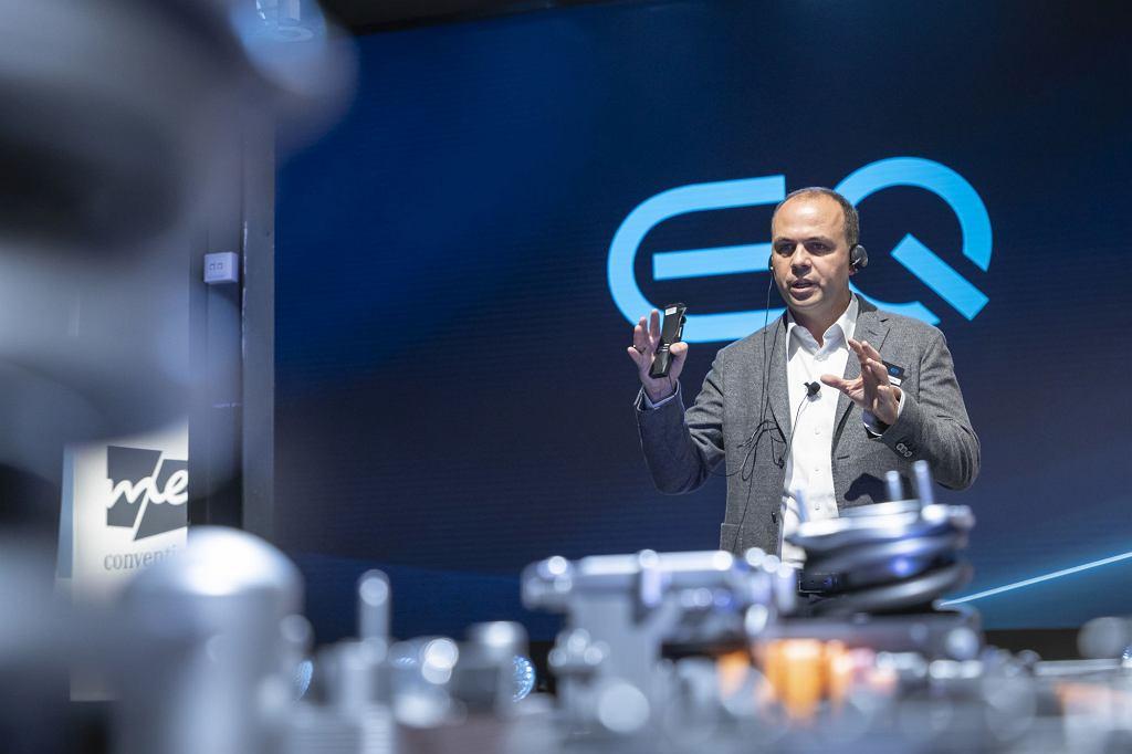 Jochen Hermann, szef rozwoju strategii CASE i eDrive w koncernie Daimler AG