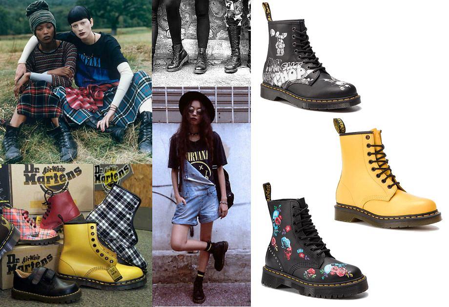 buty Dr. Martens / Pinterest/ materiały prasowe