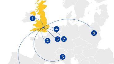 Gdzie uciekają firmy z Wielkiej Brytanii