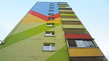 Najlepiej pomalowane osiedle mieszkaniowe w Polsce. Zobacz kolory niesamowitej słowiańszczyzny