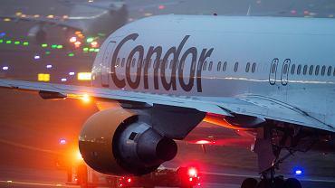 Samolot linii Condor, przejmowanej przez PGL
