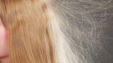 Sposób na elektryzujące się włosy