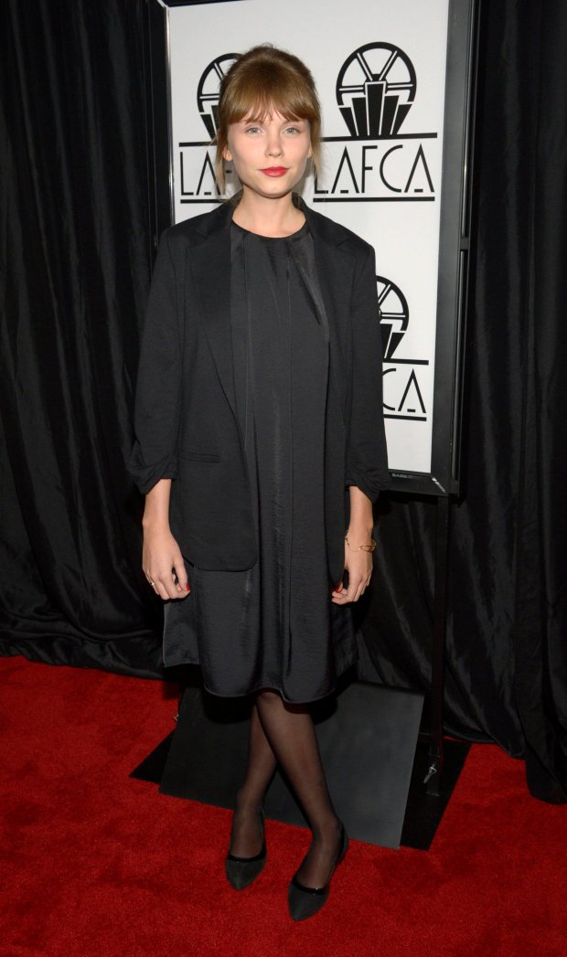 Actress Agata Trzebuchowska attends the 40th annual Los Angeles Film Critics Association Awards in Los Angeles January 10, 2015. REUTERS/Phil McCarten (UNITED STATES - Tags: ENTERTAINMENT)