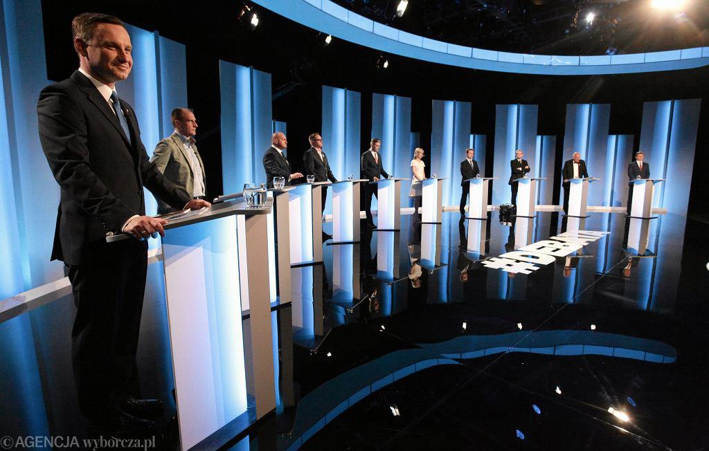 Debata prezydencka w TVP