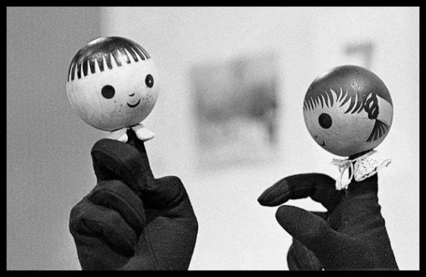 Jacek i Agatka - skrajny minimalizm, za to jaki pobudzający dla wyobraźni!