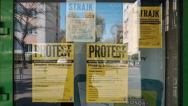 Strajk nauczycieli w Poznaniu