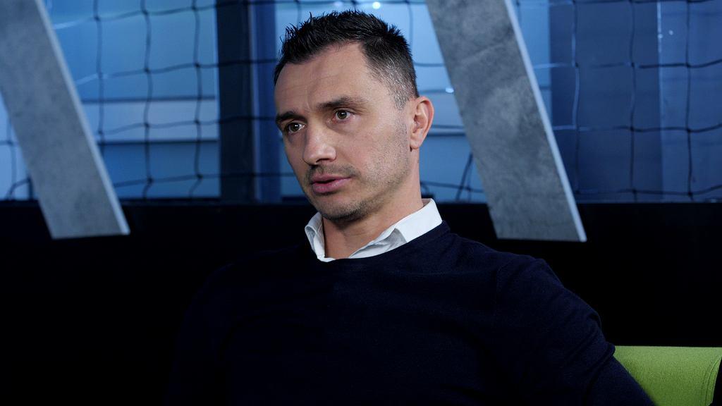 Marek Saganowski w Sekcji Piłkarskiej