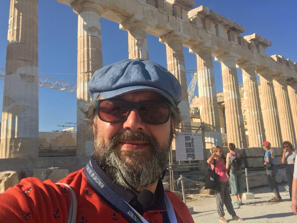 Marcin Pietrzyk w Atenach