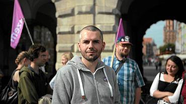 Maciej Konieczny z Partii Razem