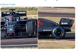 Tak wygląda bolid zespołu Roberta Kubicy w F1. Są pierwsze zdjęcia z testów!