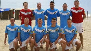 Plażowi piłkarze Grembacha Łódź na Euro Winners Cup 2014