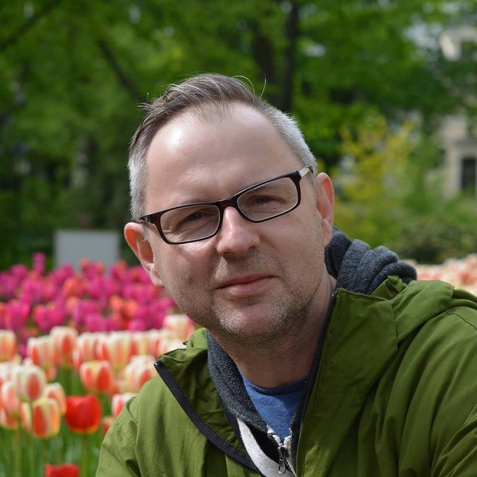 Hubert Lewkowicz, dziennikarz 'Ekspresu Jarosławskiego'