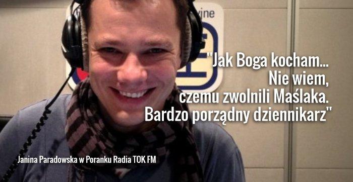 Piotr Maślak prowadzi ''Pierwsze Śniadanie w TOK-u''