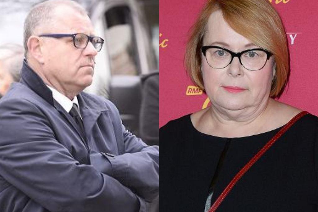 Tadeusz Chudecki i Ilona Łepkowska