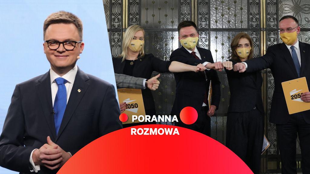Szymon Hołownia gościem Porannej Rozmowy Gazeta.pl
