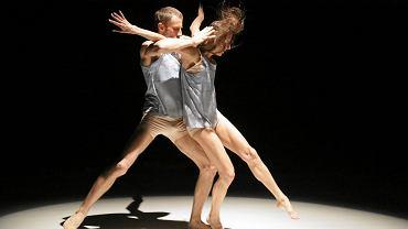 Spektakl 'Adam i Ewa', zatańczony przez Iwonę Olszowską i Pawła Koniora