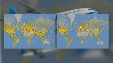 Koronawirus obcina nawet 4/5 lotów. Dlaczego tak dużo samolotów ciągle lata?