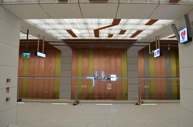 Warszawskie metro. Stacja Płocka na Woli