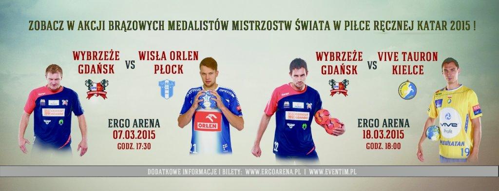 Wybrzeże vs. medaliści MŚ