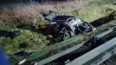 Wypadek na DK50