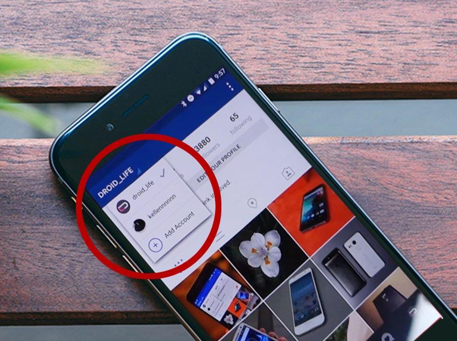 Instagram pozwala na używanie kilku kont