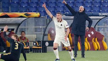 Erik ten Hag krytykuje decyzję sędziego o nieuznaniu drugiego gola dla Ajaksu w meczu z AS Romą