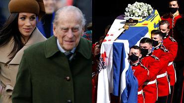 """Meghan Markle nie przyleciała na pogrzeb księcia Filipa. Wysłała wieniec z dedykacją. """"Każdy kwiat ma znaczenie"""""""