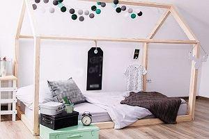 Oryginalne łóżka dziecięce, które wyglądają jak domki [hit]