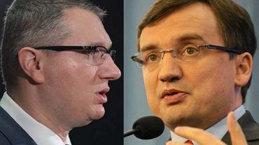 Przemysław Wipler z Nowej Prawicy i Zbigniew Ziobro z Solidarnej Polski