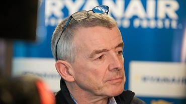 O'Leary skrytykował obowiązek kwarantanny dla podróżnych