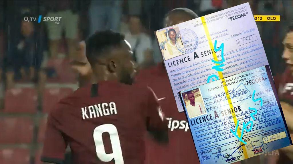 Guelor Kanga w barwach Sparty Praga